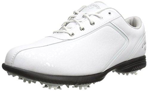 Callaway Halo Pro Wide–Scarpe da golf, colore: bianco, misura: 37