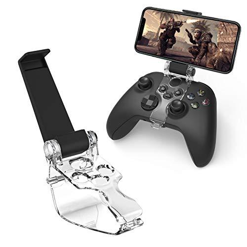 Newseego Support de Téléphone pour Manette Xbox Series S X,Support de Controller de Jeu rétractable Pliable Clip Porte-Clip Intelligent pour Contrôleur Phone Mount Clip pour de Jeu Xbox Series S X