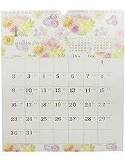 クローズピン 2022年 カレンダー 壁掛 naminami 八重ダリア CL95589
