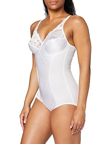Trix - Body para mujer, Blanco, 80C (Talla fabricante: 80 C)