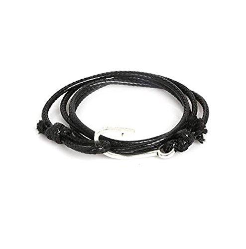 GYJUN Bracelet Bracelets Wrap Alliage Forme Géométrique / Ancre Mode Quotidien / Décontracté / Sports Bijoux CadeauBleu marine / Noir / Blanc / , one size