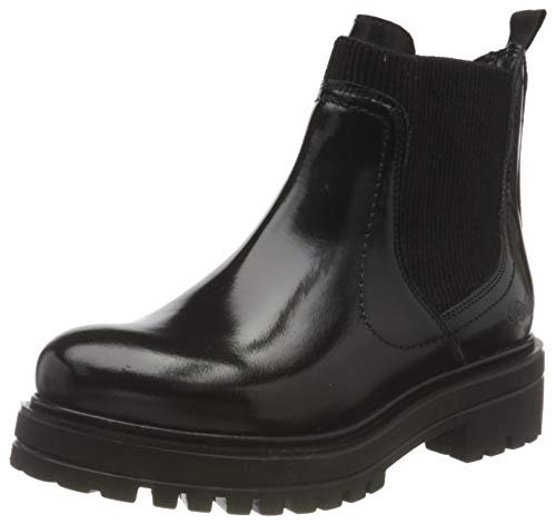 Buffalo Damen MILLA Mode-Stiefel, Black, 39 EU