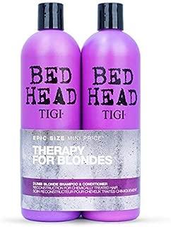 Tigi Tigi Bed Head Dumb Blonde Shampoo & Reconstructor Conditioner Duo Pack, 50 Oz