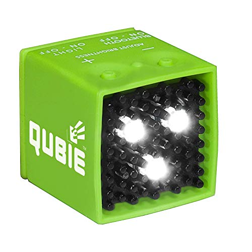 QUBIE Bluetooth LED Light Green for photography and lighting