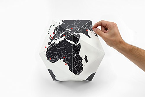 Here - The Personal Globe By Counries Black (klein) Palomar