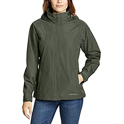 Eddie Bauer Women's Rainfoil Packable Jacket, Dk Loden Regular XL by Eddie Bauer