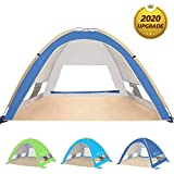 Venustas Large Pop Up Beach Tent Automatic Sun Shelter...