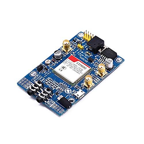 WUTINGKONG Sensor SIM808 en Lugar de SIM908 Módulo gsm GPRS GPS Desarrollo Tablero IPX SMA con Antena GPS Disponible para Raspberry Pi