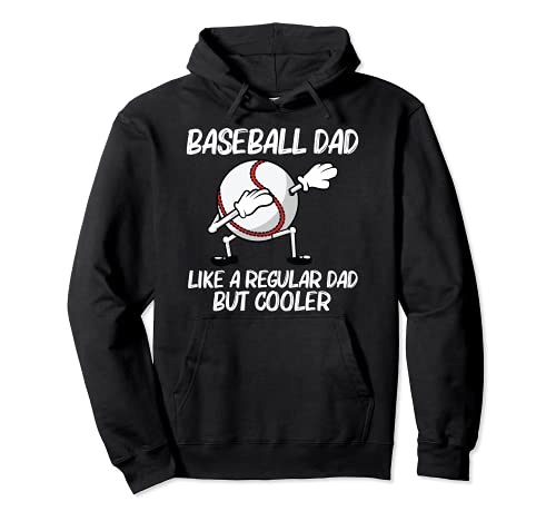 Cool Baseball For Dad Papa Pitcher Bat Ball Softball Sports Pullover Hoodie