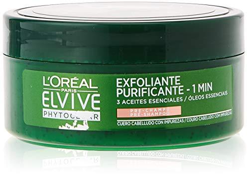 L'Oreal Paris Elvive Phytoclear Anticaspa - Exfoliante Pre-Champú Cuero Cabelludo