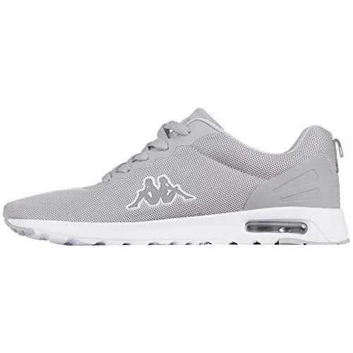 Kappa Damen Classy Sneaker, Grau (L´Grey/White 1410), 39 EU