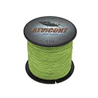 GEVICONT Braid Line Smoother and Rounder Heavy Duty Fishing line PE 4 Strand 300m 328yds 500m 547yds 1000m 1094yds 10LB-100LB Available in 10 Colors for deep sea Fishing