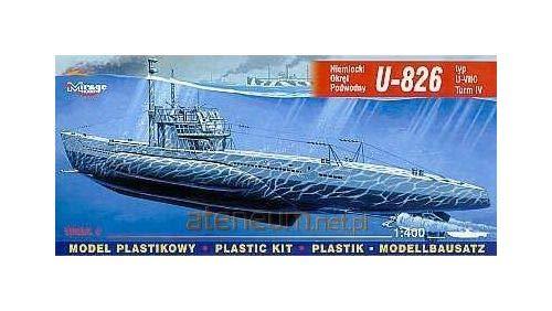 Mirage Hobby 40413 - Deutsches U-Boot U 826 Typ VII C Turm 4, Schiff