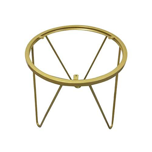 ZXL Ronde tafelpoten - goud/zwart, huismeubilair ondersteuning voeten metalen meubels accessoires tafel steun voeten woonkamer salontafel voeten