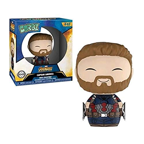 Funko Dorbz Marvel: Avengers Infinity War - Captain America with Weapons
