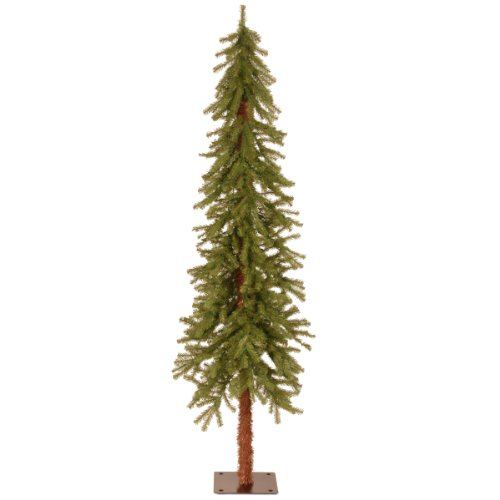 National Tree Company Artificial Christmas Tree | Includes Stand | Hickory Cedar Slim - 6 ft
