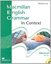 Macmillan English Grammar in Context Advanced with Key and CD-ROM Pack by Michael Vince (31-Mar-2008) Paperback