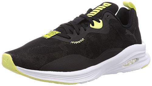 PUMA Damen Hybrid Fuego FM Camo WNS Sneaker, Black-Burnt Olive, 39 EU