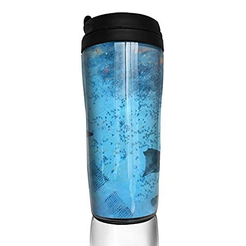 Game Thrones TV Show Taza de café reutilizable aislada taza de viaje para bebidas calientes frías y calientes té y cerveza