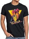 A.N.T. Bounty Hunter T-Shirt da Uomo Metroid Lite Gamer Switch Snes Samus, Dimensione:3XL