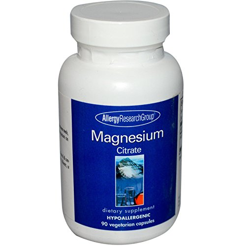 Allergy Research Group Magnesium Citrate - 170 mg - 90 Capsules Allergy Research Group Magnesium