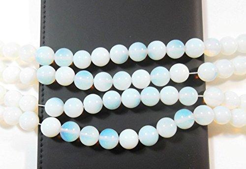MONDSTEINE Perlen Opal Edelstein Strang 6mm Halbedelstein Kugel Gemstone Beads Gem New 6mm 60 STK D90
