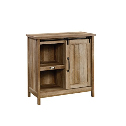 Sauder Adept Storage Accent Storage Cabinet, For TV's up to 39', Craftsman Oak finish