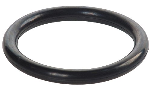 M4x57 Buna-N O-Ring, 70A Durometer, Round, Black, Buna-N, 57 mm ID, 65 mm OD, 4 mm Width (Pack of 25)