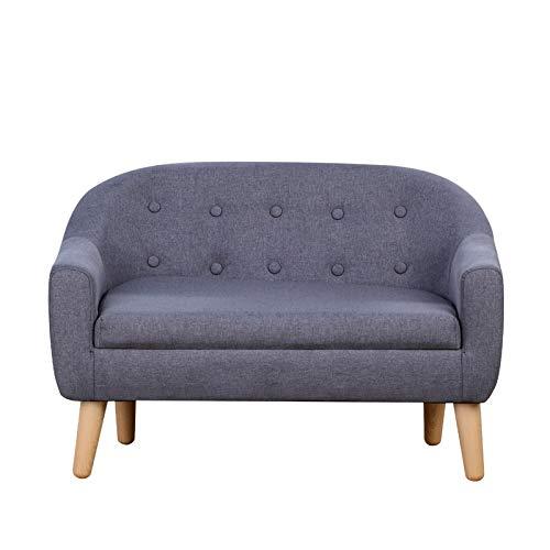 Kids Chair Sofa,Linen Fabric 2-S...