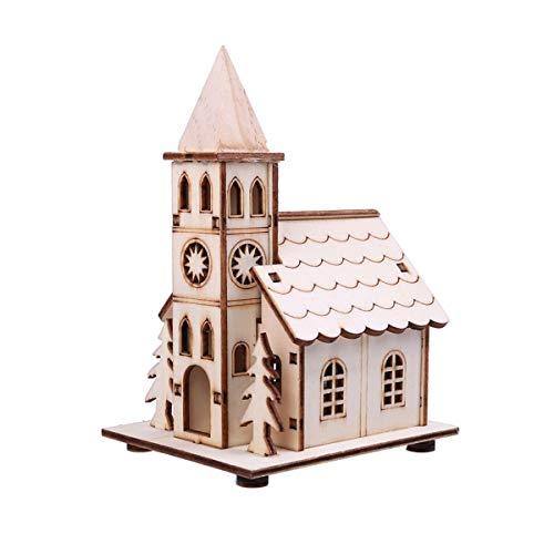 Greatangle-UK Boules de cabine rougeoyantes de Noël Réchauffeur de Noël Petites ornements de Maison Ornements de décoration de Noël Multicolore 1