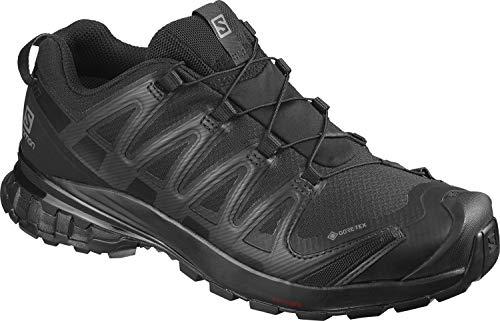 Salomon Damen XA PRO 3D v8 GTX W Trail Running Schuhe, Schwarz (Black/Black/Phantom), 44 EU