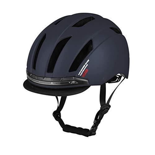 Wosiky Fahrrad Motorrad Fahrrad Helm mit Blinker Licht sicher Pendeln Motocross Helm Reiten Warnhelm für Männer Frauen