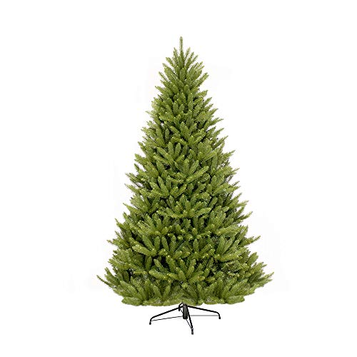 Puleo International 7 Foot Un-Lit Fraser Fir Artificial Christmas Tree