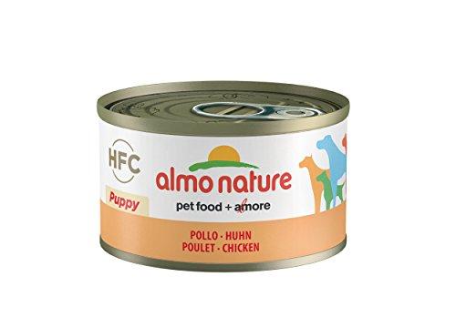 almo nature HFC - Cibo Umido per Cuccioli, 95 g, Confezione da 24