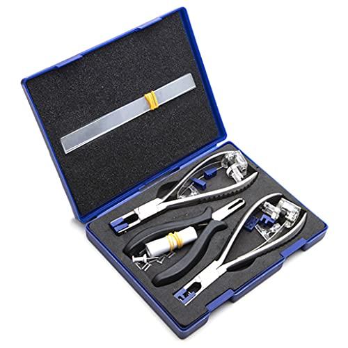 vitaity 収納ボックス付きプロフェッショナル眼鏡プライヤーセット縁なし分解メガネフレーム光学ツールキット
