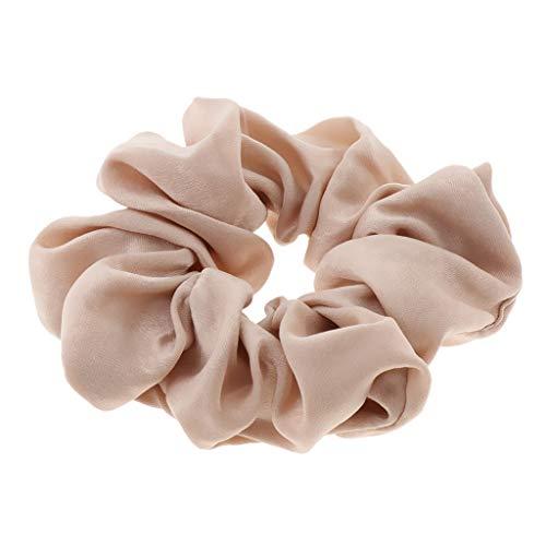 Hair Ties Velvet Scrunchies Girls Ladies Hair Band Ponytail Hair Accessories - Beige