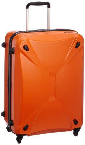 [サンコー] Solare ATX スーツケース ソラーレ  軽量 中型 容量60L 縦サイズ64cm 重量3.3kg ATSO-60 オレンジ