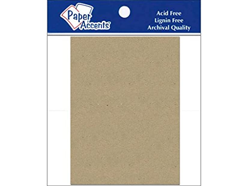 Accent Design Paper Accents ADPSHAPE.78 5.5x7.5 Rectangle Chipboard