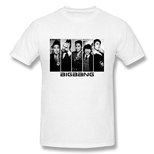 hsuail Hombres del Big Bang camiseta