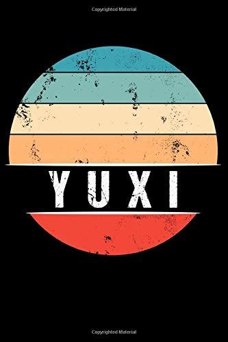 YUXI: 100 Pages 6 'x 9' | Dot Graph Paper Journal Manuscript • Planner • Scratchbook • Diary