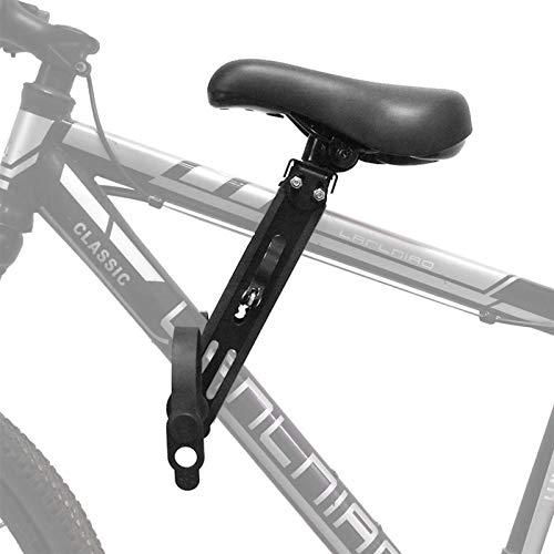 Asiento de Bicicleta MTB montado en la Parte Delantera para 2 3 4 5 años Vendido Soft Baby Asiento Montaña Bicicleta Marco de Bicicleta Relacionamiento Quick Sillín Piezas (Color : Black Seat)