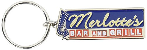 True Blood Fridge Enamel Keychain: Merlotte S