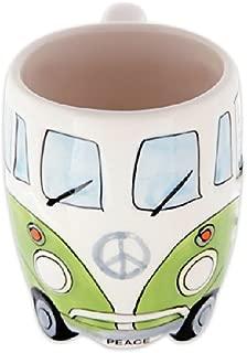 Volkswagen - Green Ceramic Shaped Coffee Mug / Cup (VW Camper Van / Bully / T1)