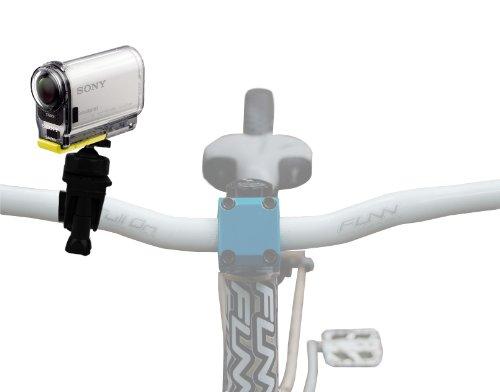 DURAGADGET Soporte Montura para Manillar De Bicicleta Diseñada para Videocámara Sony HDR-AS100V...