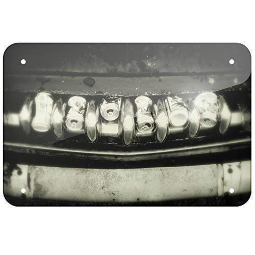 Promini Placa metálica para parrilla de coche, latas de cerveza de 30,5 x 45,7 cm.