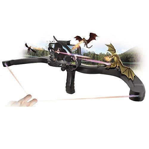 Forever AR Hunter GP-300 Augmented Reality Gun Laser Pistole Waffe Bogen Armbrust Schießen für interaktive Bluetooth Video Spiele mit dem Smartphone Halterung für Handy