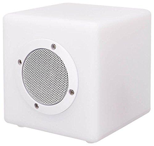 Bigben kabelloser Außenlicht-Lautsprecher - Color Cube - mit Bluetooth und Fernbedienung - Sitzfunktion - Gr. XS