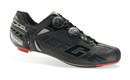 Gaerne–Scarpe da Ciclismo–3276–001G-Chrono C Black, Nero (Nero), 48