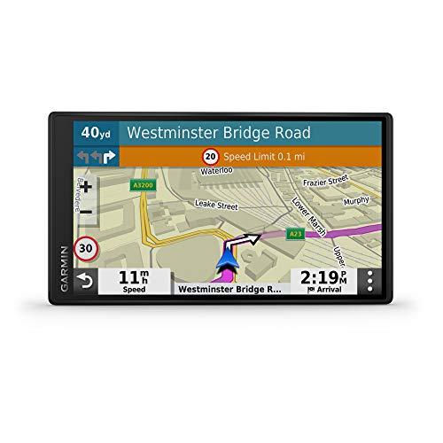 Garmin DriveSmart 55 EU LMT-S Navigatore Auto con Mappa Europa 3D, Schermo...