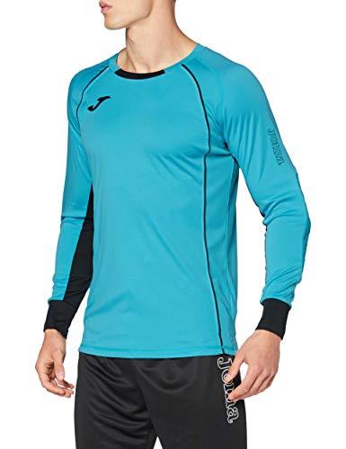 Joma Camisetas de Portero, Hombre, Turquesa Fluor, 2XL